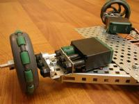 Name: Omnibot Number 2 - Underside Drivetrain Details - DSCN0663.jpg