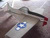 Name: mustang 017.jpg Views: 362 Size: 126.2 KB Description: I airbrushed some detail for teh front end and canopy