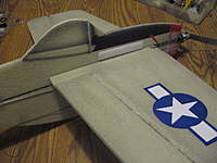 Name: mustang 021.jpg Views: 365 Size: 102.6 KB Description: Closeup of the paper decal and the canopy
