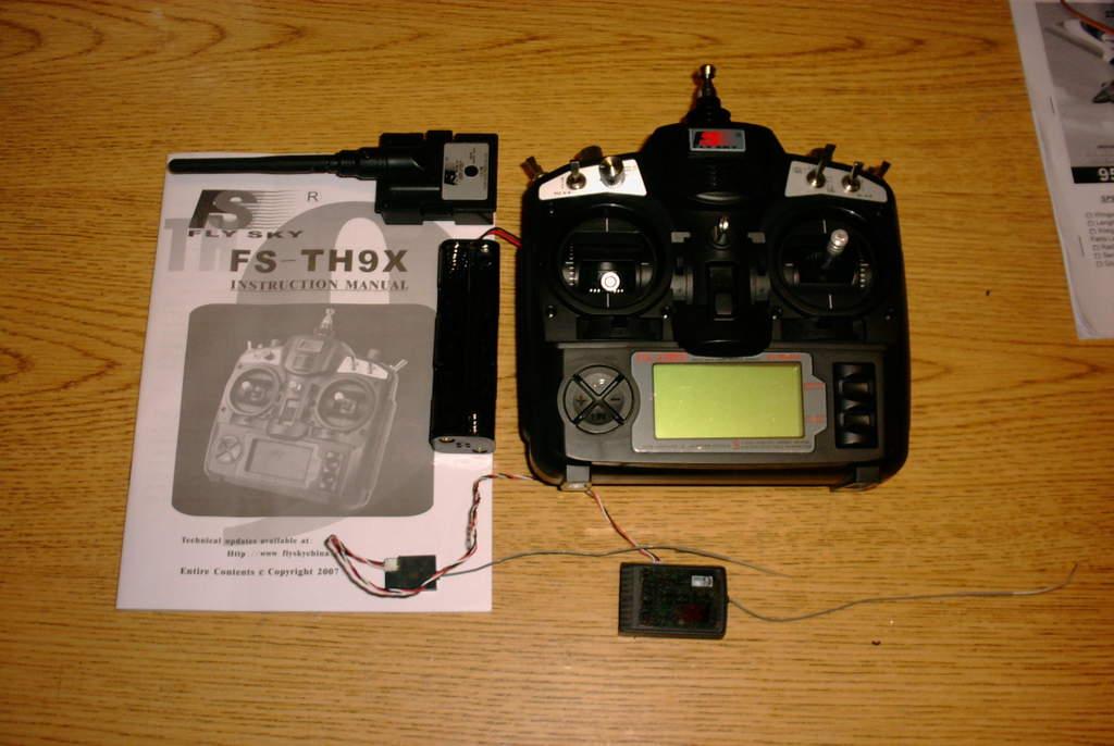 Attachment browser: FlySky 9X Transmitter, 2 4 Module, 8