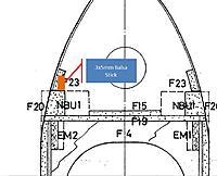 Name: Canopy problem 1.jpg Views: 80 Size: 64.9 KB Description: Cross section doesn't show 3x5mm stock, but you can see where F23 meets F20 at an angle.