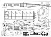 Name: Micro Star - RC - 29in.Parawing - Eng .020 - .033 - from Pilot Full Plan new scanning.jpg
