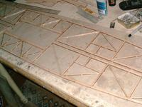 Name: B-24 016.jpg Views: 171 Size: 70.9 KB Description: Fuse frames are block sanded with 220