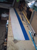 Name: IMG_4328.jpg Views: 459 Size: 77.2 KB Description: Top Mylar with one coat applied. Use Dolphin wax.