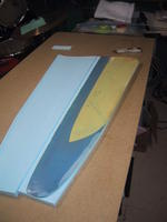 Name: IMG_4400.jpg Views: 405 Size: 45.6 KB Description: Same for the top, ready to remove the Mylar.
