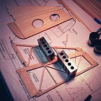 Name: IMG_1949.jpg Views: 237 Size: 176.5 KB Description: Lasercut parts vs. built-up - for comparison