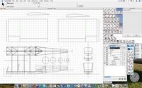 Name: FletchCapture.jpg Views: 147 Size: 73.8 KB Description: Screenshot of FL-23 CAD-in-progress.  Details of structure are likely change as I think of better/simpler/stronger/lighter/etc ideas.