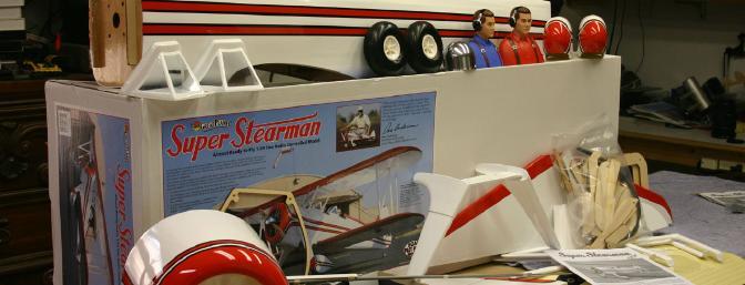 KIT CONTENTS: Pre-built wing fuselage and tail assemblies, aluminum main landing gear, engine mount, hardware package, fiberglass cowling/landing gear fairings/wheel pants/I-struts, and <a href=