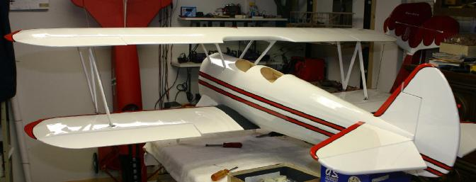 The upper wing mounted.