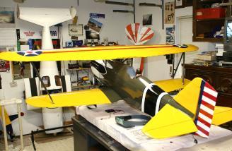 Left Rear quarter assembled Hawk