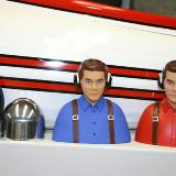 aluminum spinner, 2 prepainted pilot figures, all 3 wheels,
