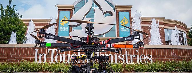 Flying a $50K camera, no big deal.