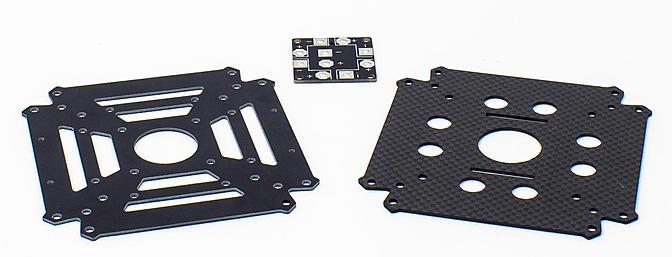 Sporta 250mm Center plates
