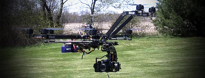 vulcan uav skyhook 1080mm octocopter frame