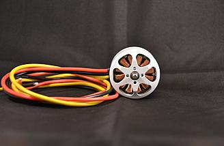 Top with the nicely colored 700mm of wire.