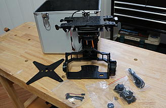 iFlight BetView 5D/GH3 out of the box (My mounting system attached)