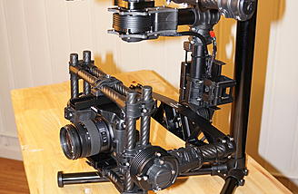 Movi M5:  Assembled for the first time. (Yes I know the top handle is upside down)