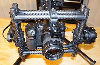 Movi M5:  The camera cage. Simply a work of art
