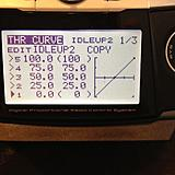 Idleup 2 throttle curve settings