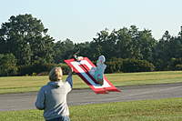 Name: IMG_5558.jpg Views: 240 Size: 86.5 KB Description: This is me launching and flying Bob Masterson's flying carpet