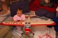 Name: DSC_7876.jpg Views: 454 Size: 54.4 KB Description: My niece load testing the wing :D