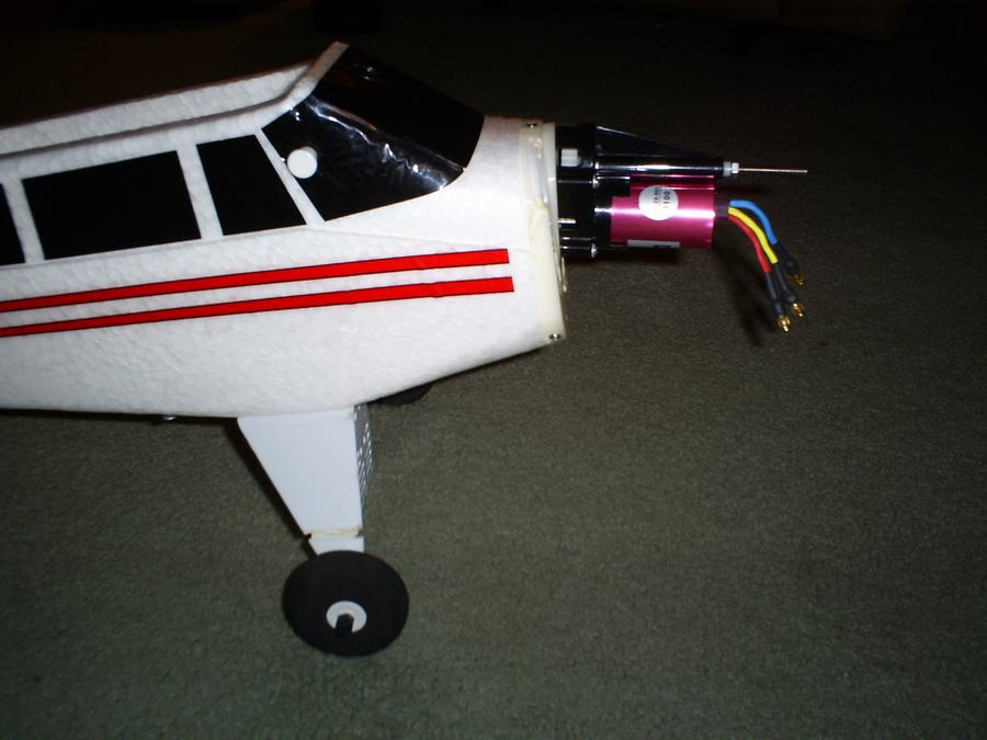 Name: BrushlessSuperCub installation 004.jpg Views: 800 Size: 60.8 KB Description: Another view