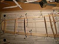 Name: P1030392.jpg Views: 430 Size: 228.8 KB Description: Note aileron outline penciled onto the plan.