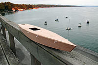 Name: T37_1.jpg Views: 828 Size: 120.5 KB Description: Hull glued and waiting to attach the deck