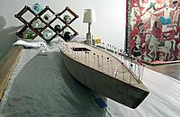 Name: T37_9.jpg Views: 611 Size: 112.9 KB Description: Mahogany veneer deck strips being glued