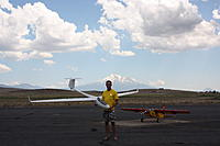 Name: IMG_7051.jpg Views: 127 Size: 121.7 KB Description: Scott with his ASW 28.