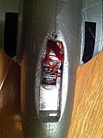 Name: IMG_0729.jpg Views: 148 Size: 142.1 KB Description: Tight fit. The batter sits over the end of the RX