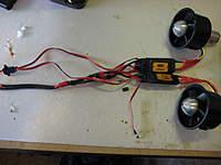 Name: 64mm fan w Wemo rotors and Scorpion esc 002.jpg Views: 80 Size: 61.1 KB Description: