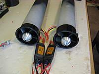 Name: 64mm fan w Wemo rotors and Scorpion esc 004.jpg Views: 106 Size: 66.6 KB Description: