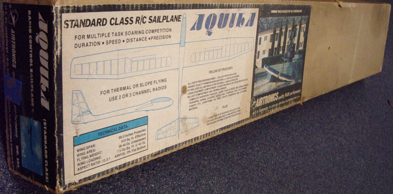 Name: Aquila I.jpg Views: 203 Size: 295.6 KB Description: Not a pretty box but it's still doing it's job containing and protecting the kit contents.