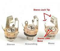 "1 8 mono jack wiring expert wiring diagram u2022 rh heathersmith co 1 4"" Mono Plug Wiring 1/4 mono jack wiring"