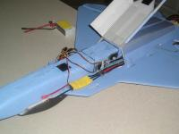 Name: P3230010.jpg Views: 359 Size: 67.2 KB Description: Servos, linkages, speed control, and hatch cover completed.