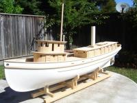 Name: DSC00638.jpg Views: 449 Size: 113.1 KB Description: Port side view of the bunker boat. The smoke stack is a PVC tube.