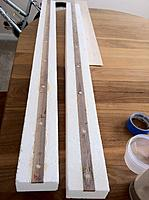 Name: Floats-13.jpg Views: 97 Size: 148.7 KB Description: Here're the tops of the walnut spined ones after sanding.