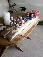 Name: Floats-19.jpg Views: 58 Size: 169.7 KB Description: Set number two bottoms glued up. My soda addiction comes in very handy when I need to weight something down.