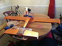 Name: IMG_1711.jpg Views: 78 Size: 233.3 KB Description: Horizontal stab glued on with laser alignment