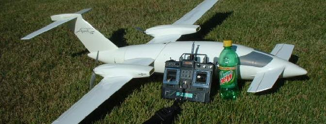 After flight one, I needed to chill and have a Dew!! Once my knees stopped shaking that is! The Simprop Avanti is one plane that is a joy to fly.