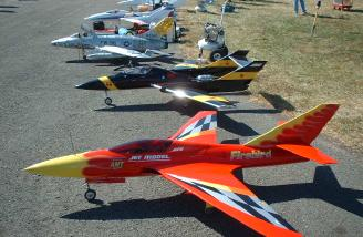 More of the flight line.