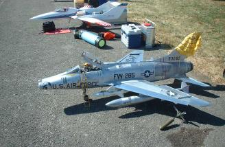 A couple of BVM jets.