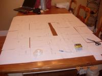 Name: EPP Mig 29 Build 001.jpg Views: 703 Size: 55.8 KB Description: You can see where i widened the fuz in the middle where I haven't covered the table with paper.