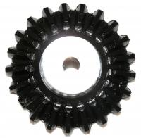 Name: gear7.jpg Views: 214 Size: 105.2 KB Description: The crown lost a tooth again.  Clearly flattening the tail shaft costs you more parts.  Fortunately had one remaining set of gears.