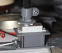 Name: servo12.jpg Views: 23 Size: 1.07 MB Description: This has a stiffness problem when screwing in the servo.  The risers should go all the way past the servo screws.  The bottom plate should extend beyond the longer risers.  The servo hole should be narrower.