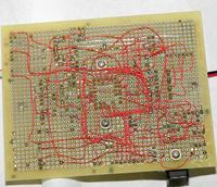 Name: quad_board01.jpg Views: 147 Size: 235.4 KB Description: Since quad rotors have no servos, there's no 6A Castle Creations BEC to power the camera, so we wired all the Super Simple ESCs in parallel to get 4A.
