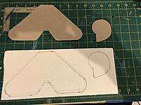 Name: EB725675-A314-4413-8E08-634A85803D81.jpg Views: 48 Size: 871.1 KB Description: I then traced the cut outs on a piece of modeling foam.