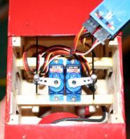 Name: dvii-servos.jpg Views: 809 Size: 59.6 KB Description: elevator and rudder servos installed
