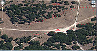 Name: Fort Ord 1.jpg Views: 62 Size: 305.5 KB Description: This is where I do flight testing.  The 20m scale is from Google Maps.  It's not quite accurate.  I refer to the surrounding oak trees as Landing Zone #2.